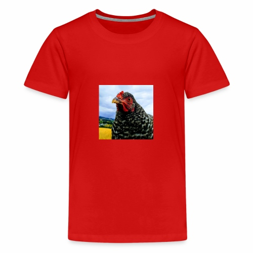 not so Curious chicken - Teenager Premium T-Shirt