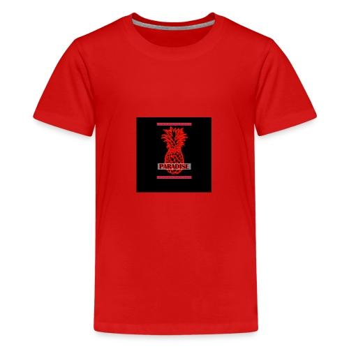 Red Paradise - Teenager Premium T-Shirt