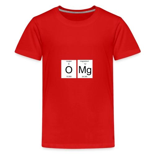 OMG Nerd Geschenk Geschenkidee - Teenager Premium T-Shirt