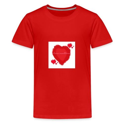 Amour inconditionnel - T-shirt Premium Ado
