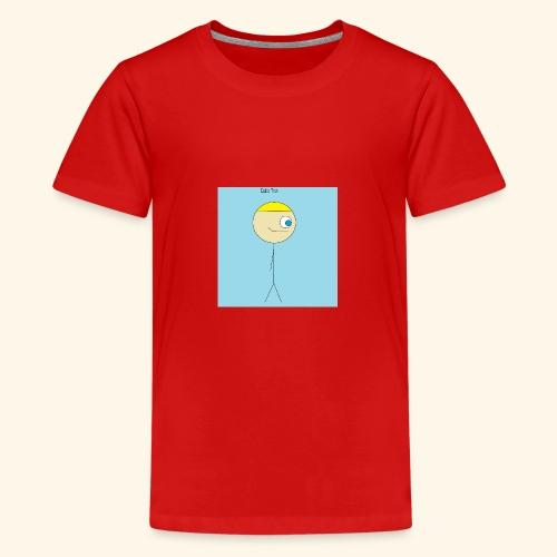 Poster Cubix Tron - Camiseta premium adolescente