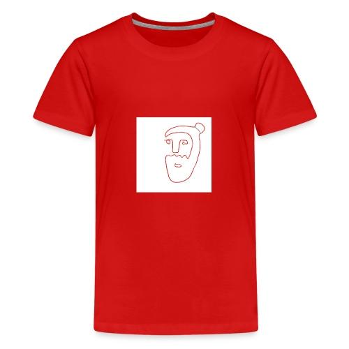 Ilustracio n sin ti tulo 26 - Camiseta premium adolescente