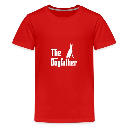 The Dogfather Dobermann - Teenager Premium T-Shirt