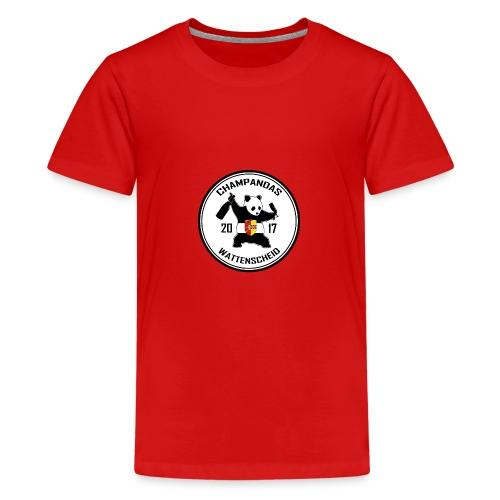 Champandas Logo - Teenager Premium T-Shirt