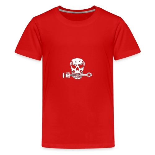 Weiß kolbenfresser - Teenager Premium T-Shirt