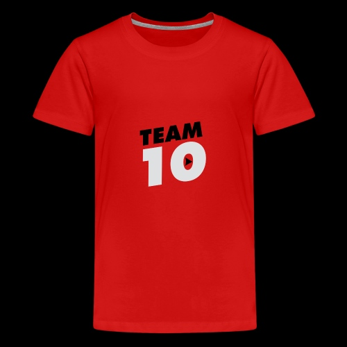 Team10 logo - Teenage Premium T-Shirt