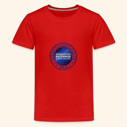 MONPROCERTIFIE - T-shirt Premium Ado