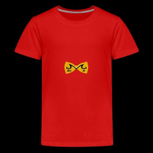 M-Logo von Babidi - Teenager Premium T-Shirt