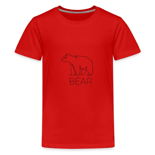 bear - Teenager Premium T-Shirt