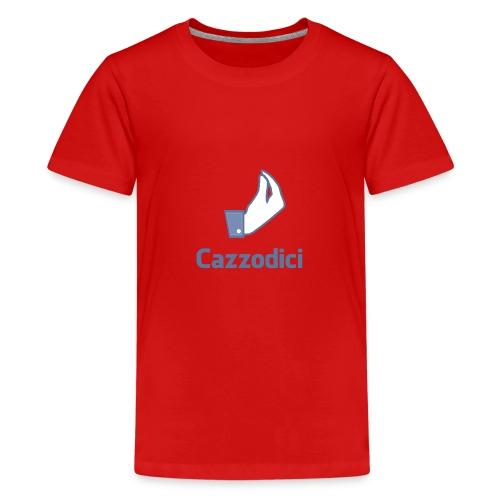 cazzodici - Maglietta Premium per ragazzi
