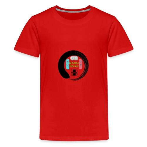 G Game Review Logo - Teenage Premium T-Shirt