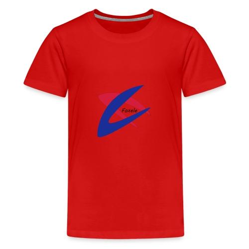 Red/Blue - Teenage Premium T-Shirt