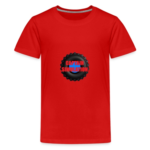 Logo with no blue background - Teenage Premium T-Shirt