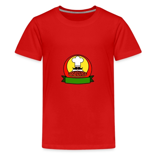Pizza - Teenage Premium T-Shirt