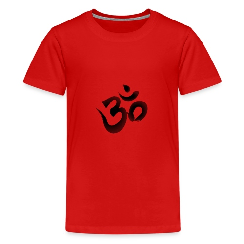 OM Mantra Joga - Teenager Premium T-Shirt