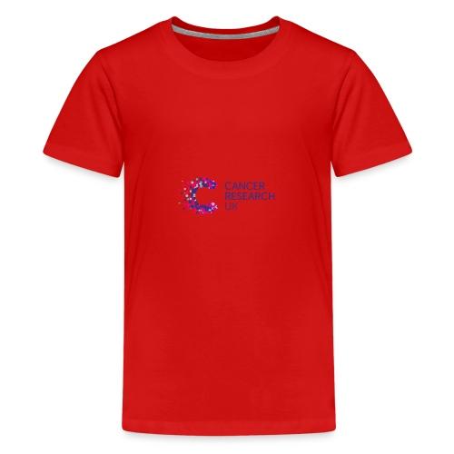 cancer research uk tee shirts - Teenage Premium T-Shirt
