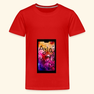 Ayla'z World Galaxy T-Shirt - Teenage Premium T-Shirt