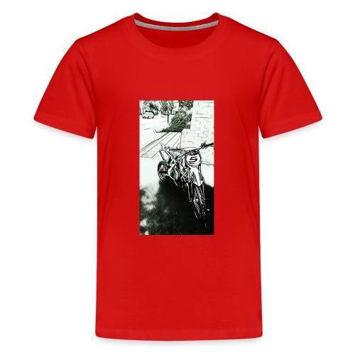 Pocket cross - T-shirt Premium Ado