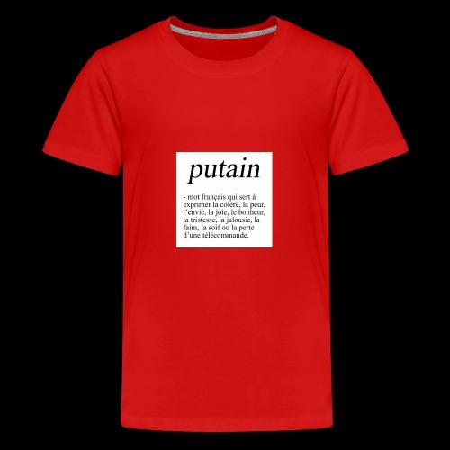 TA PHRASE - T-shirt Premium Ado