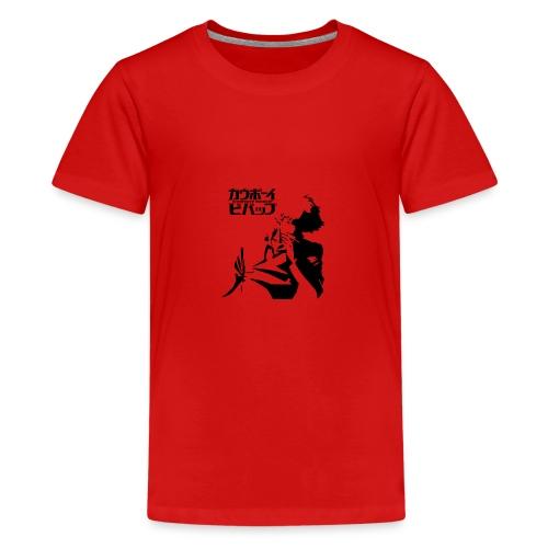 Cowboy Bebop logo - Teenage Premium T-Shirt