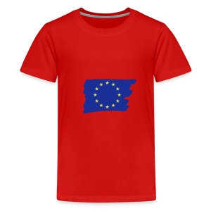 eurostar flag - Teenager Premium T-Shirt