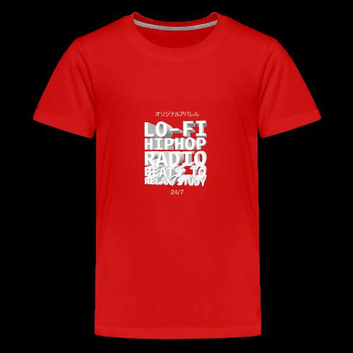 Vaporwave Hiphop Radio Beats - Teenager Premium T-Shirt