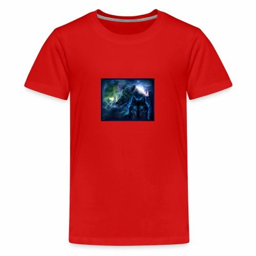 3 wunderschöne Wölfe - Teenager Premium T-Shirt