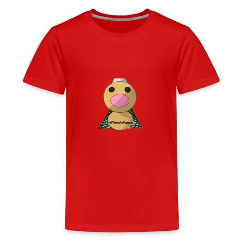 HetWeedleKanaal shirt KINDER EN TIENER MATEN - Teenager Premium T-shirt