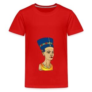 Nofretete - Die Schöne, die da kommt - Teenager Premium T-Shirt