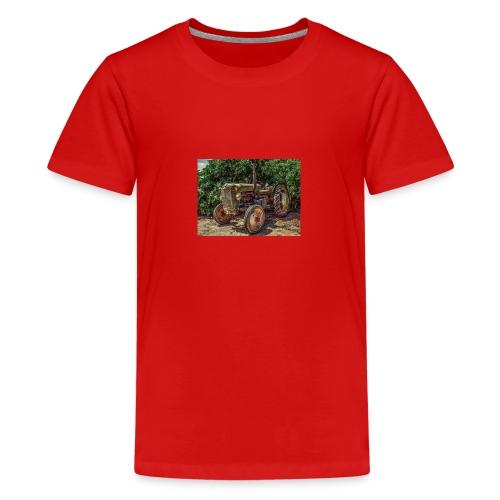 tractor - Teenage Premium T-Shirt