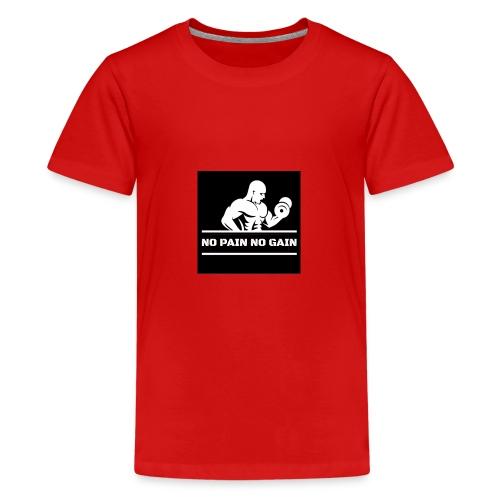 5 - Camiseta premium adolescente