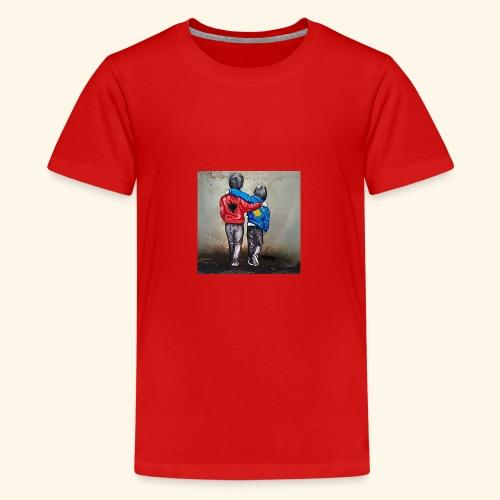 Albanien und Kosovo - Teenager Premium T-Shirt