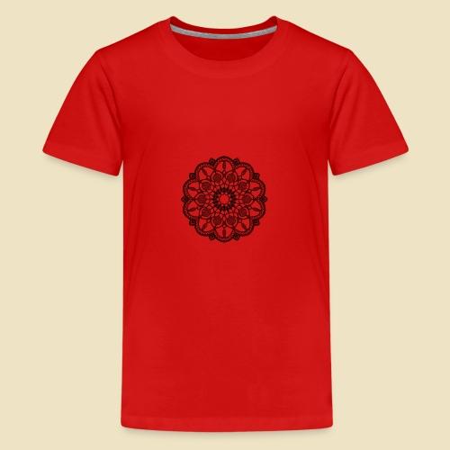 Mandala - Camiseta premium adolescente