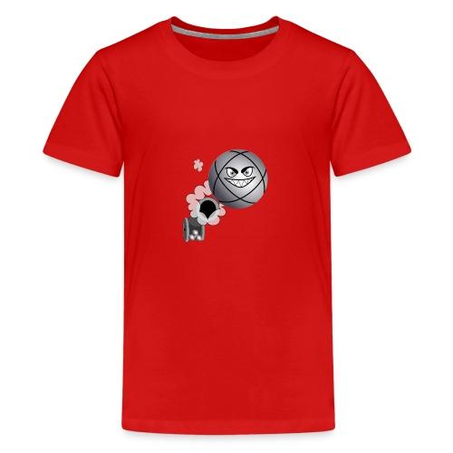 petanque tireur le carreau à la pétanque - T-shirt Premium Ado