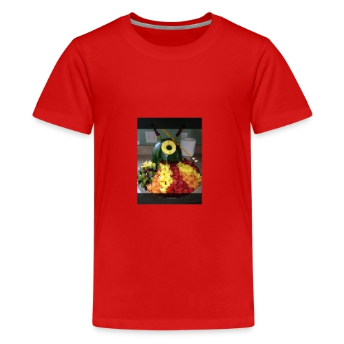 Alien Monster - Teenager Premium T-Shirt