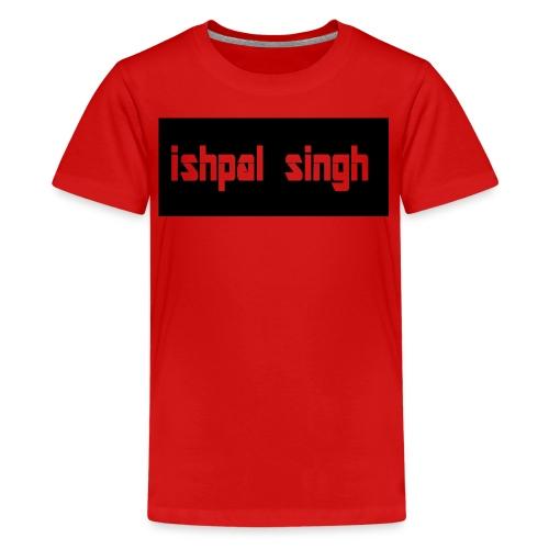 gewoon ishpal man - Teenager Premium T-shirt