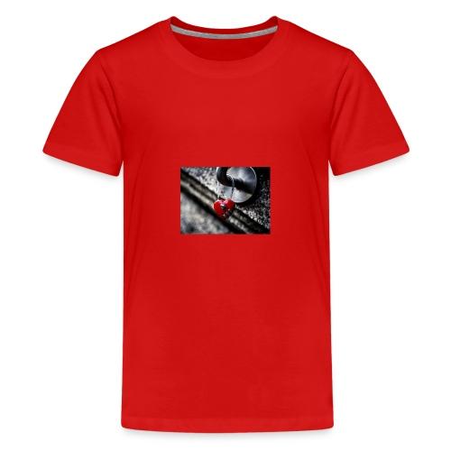 0 intro love 100642565 orig - Teenager Premium T-Shirt