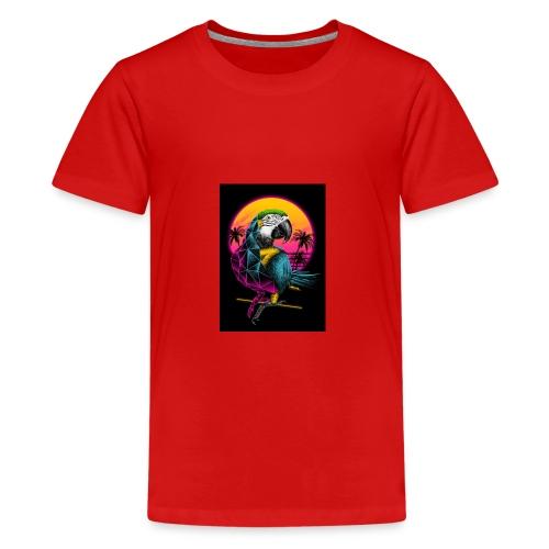 Papagei Vice City - Teenager Premium T-Shirt