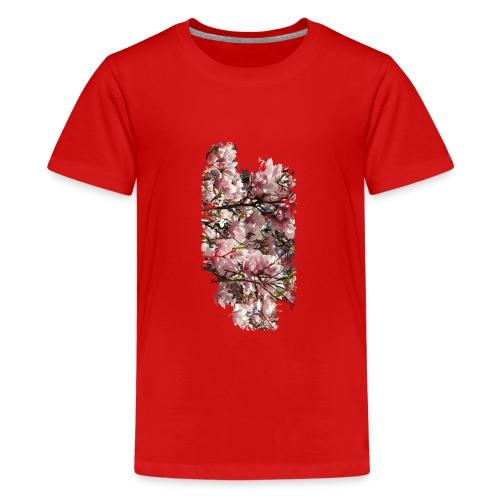 Tree Flower - Teenager Premium T-Shirt