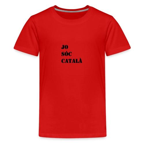 JO SOC CATALA - Camiseta premium adolescente