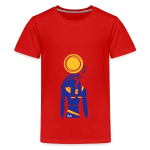 RA – Sonnengott - Teenager Premium T-Shirt