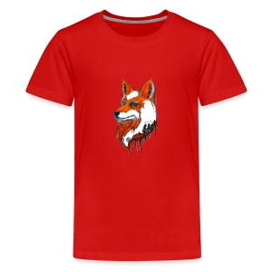 David Pucher Art Fuchs - Teenager Premium T-Shirt