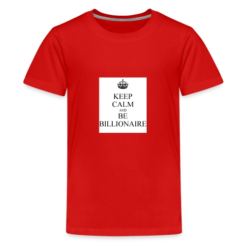 Keep Calm T shirt - Teenager Premium T-shirt