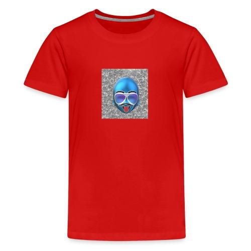 lustig geschenk mann bart idee - Teenager Premium T-Shirt