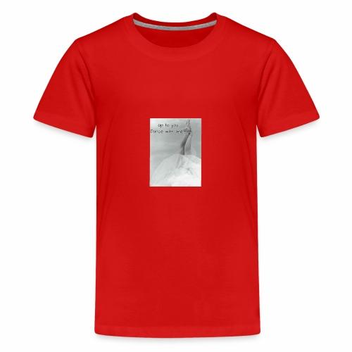 Dance ballets - Teenager Premium T-Shirt