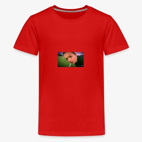 AC0EBEC5 F009 410A B9DC B12ED98FDF82 - Premium T-skjorte for tenåringer