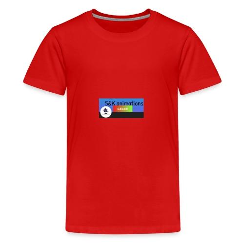 YouTube name - Teenage Premium T-Shirt
