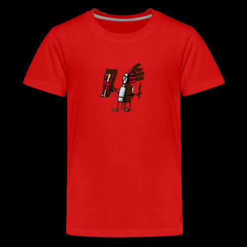 Romano color pantone - Camiseta premium adolescente