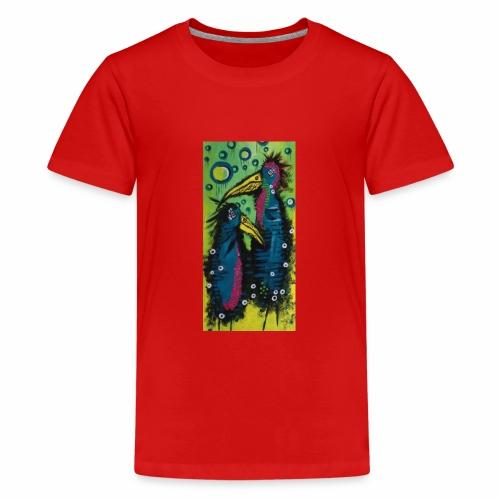 Two Birds - Teenager premium T-shirt