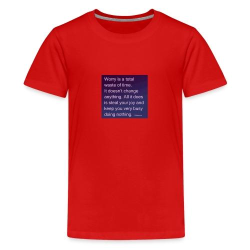 FB IMG 1521645403636 - Teenage Premium T-Shirt